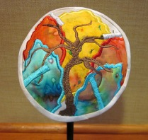 "Marilyn Levy ""A Kippah for Moses - The Burning Bush"""