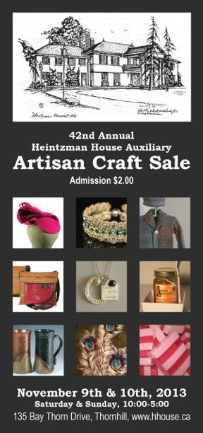 Craft Show November 9