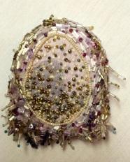 Barbara Goldstein - self-portrait detail egg