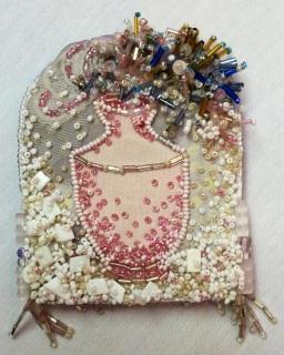 Barbara Goldstein - self-portrait detail vessel