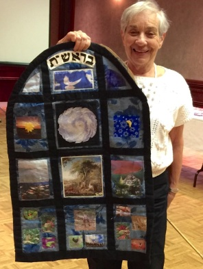 Janet Page - wall hanging Bereishit 7 days of creation