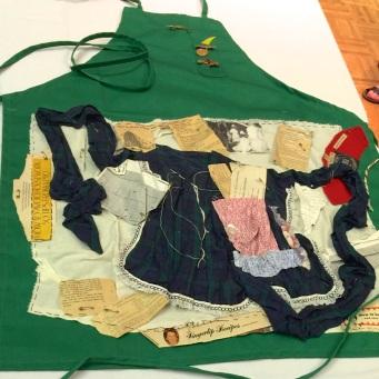 Jessie Caryll - self-portrait as apron