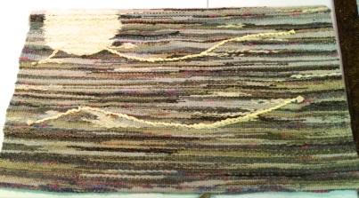 Juana Sleizer - woven wall hanging (night)