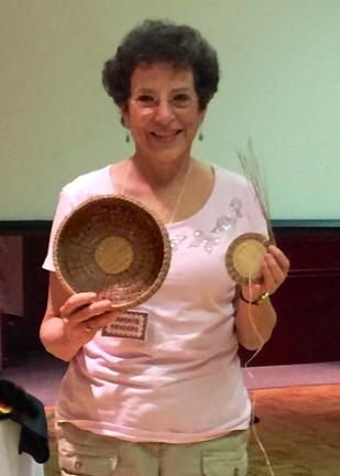 Karen Sanders - basket construction of long-needle pines