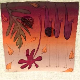 Rikki Blitt - beaded painted silk