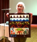 Ruth Smith - wall hanging story of creation