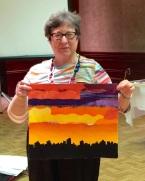 Sandra Birnbaum - with Angry Sky