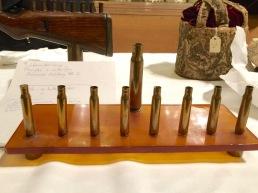 Chanukiah - bullet casings