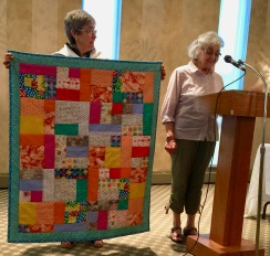 Quilt for great-grandchild - front