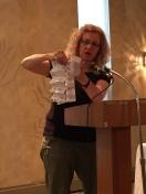 Laya demonstrating book