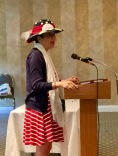 A millinery journey started at a Guild meeting